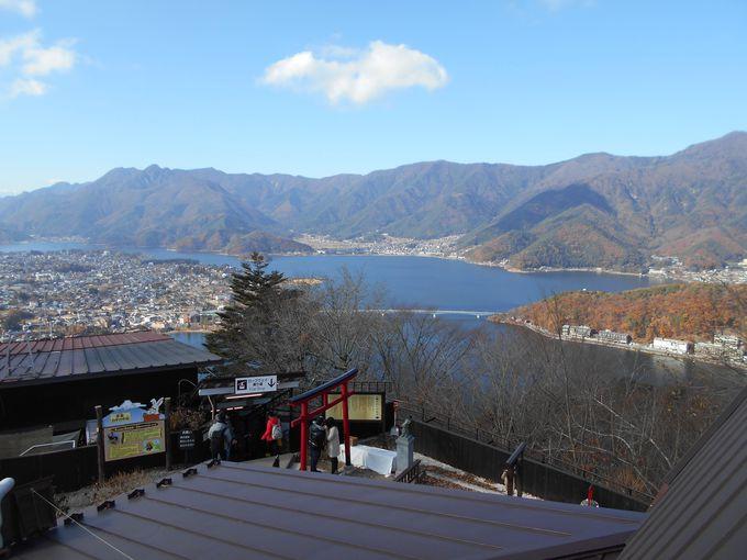 ナイスビュー!世界遺産富士山の絶景から南アルプス、河口湖の全貌も!