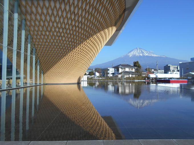 日本初!国際基準の森林認証取得したセンターの木格子