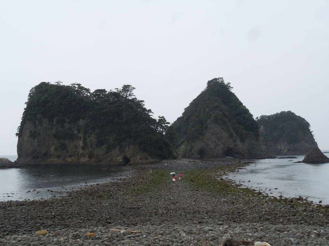 別名を持つ「象島」は全国的に珍しい!摩訶不思議な「トンボロ現象」が出現
