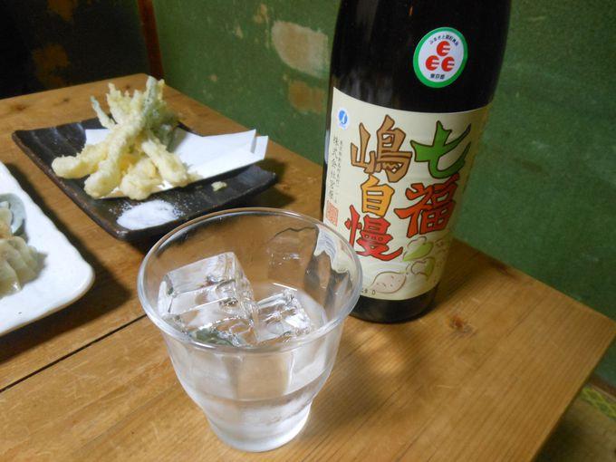 お土産に持ち帰りもOK!島仕込みの本格芋焼酎「七福嶋自慢」はボトルで丸飲みがお得