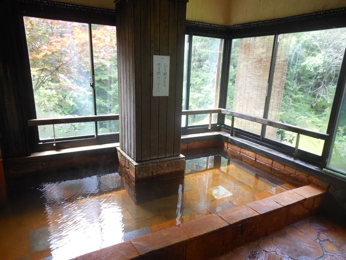 宿自慢の絶景風呂は、これっ!