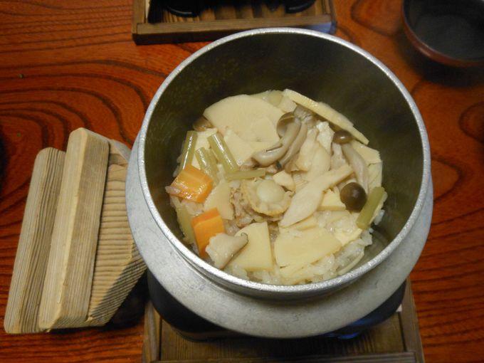 堀りたて新鮮!筍・筍・筍・・・タケノコづくしのご馳走料理