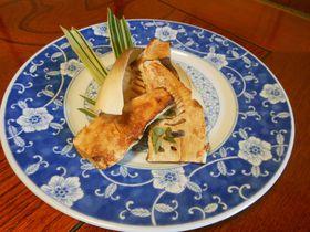 春限定!タケノコづくし料理が味わえる温泉宿・富士宮「芝川苑」