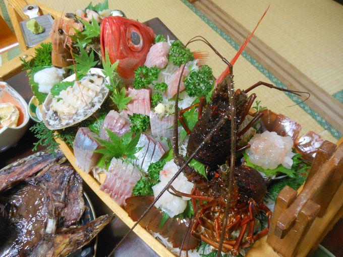 これぞ網元の料理!圧巻・アッパレな豪勢な海の幸