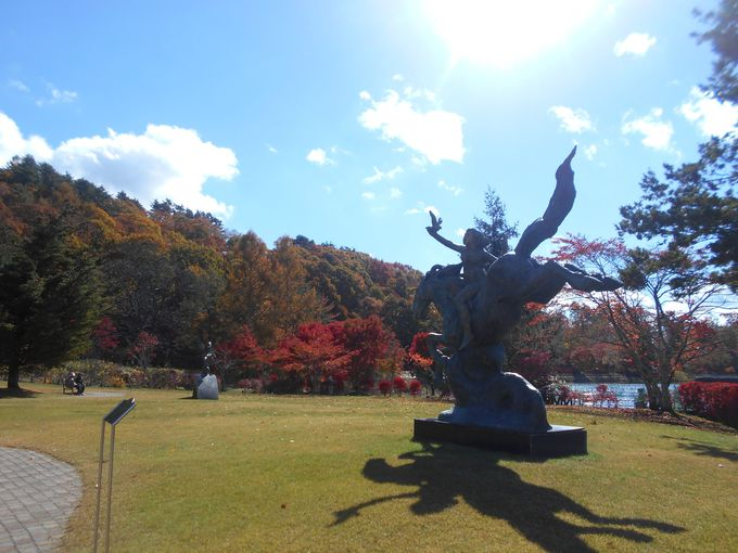 芸術の秋!アートフルな彫刻公園も