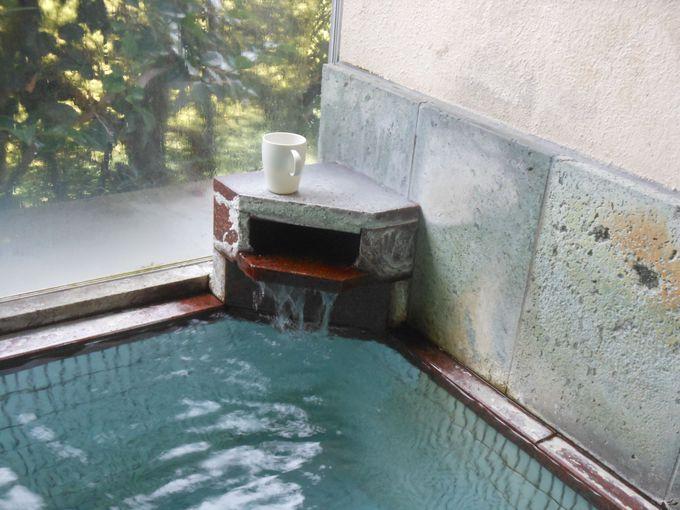 24時間入浴可能!源泉かけ流し100%の天然湯