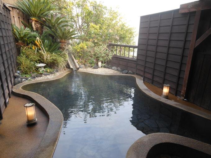入るべし!湯量を見せつけられる絶景露天風呂「だいもんじ」
