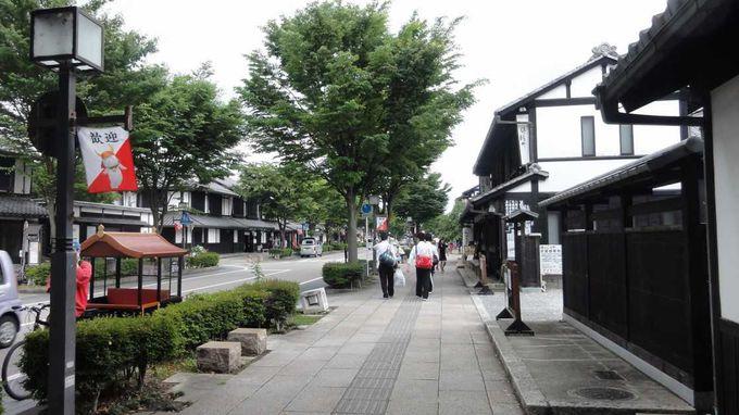 風情ある街並みが続く夢京橋キャッスルロード