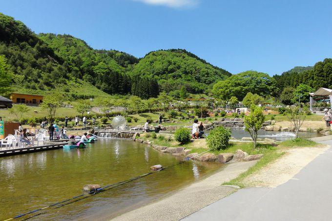 山の中のひろ〜い敷地に、スイスの高原のようなテーマパークが!