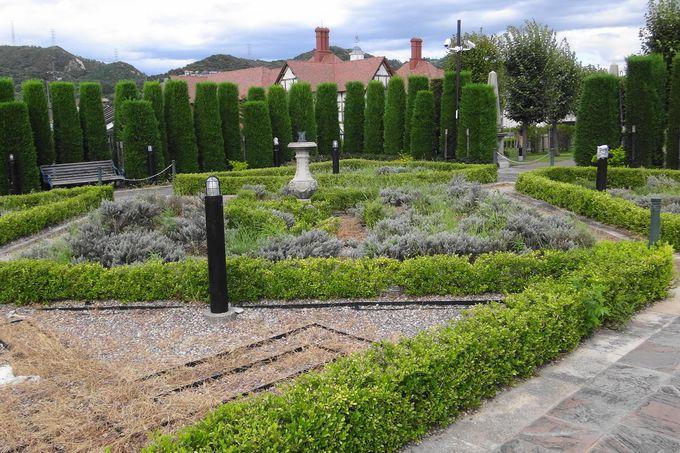 ガーデナーの憧れ、英国風庭園(イングリッシュガーデン)