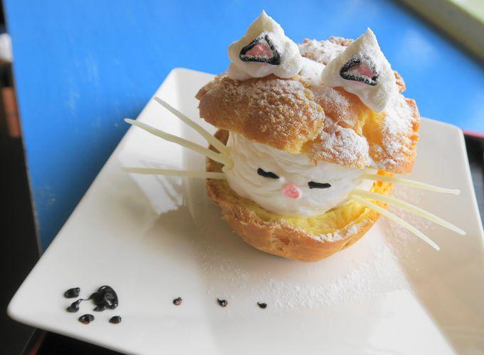 可愛い猫スイーツが人気のお店「HIDE & SEEK」
