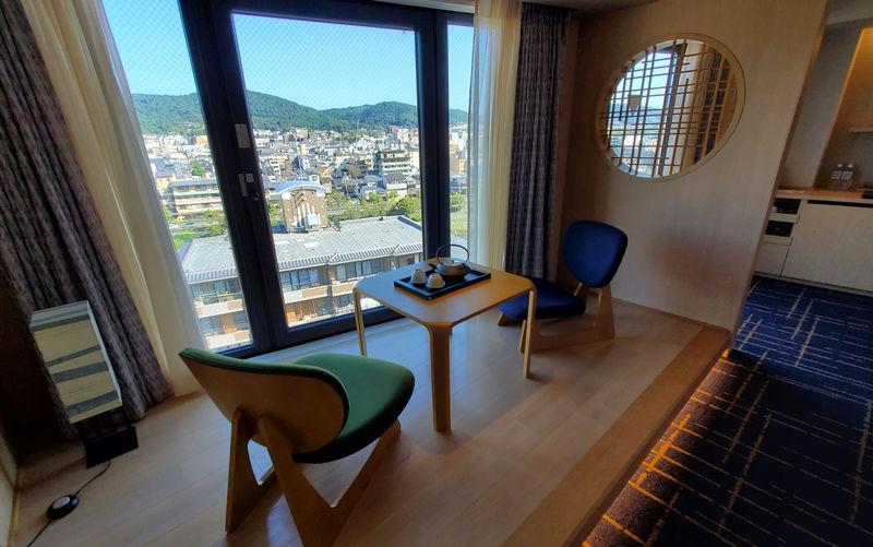 東山一望の小上がりと上質な空間に癒やされる「ホテル京都木屋町」