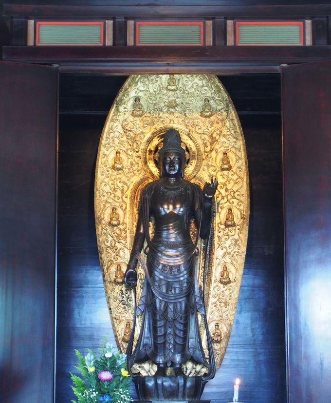 あまりに美青年な仏様!国宝「聖観世音菩薩像」