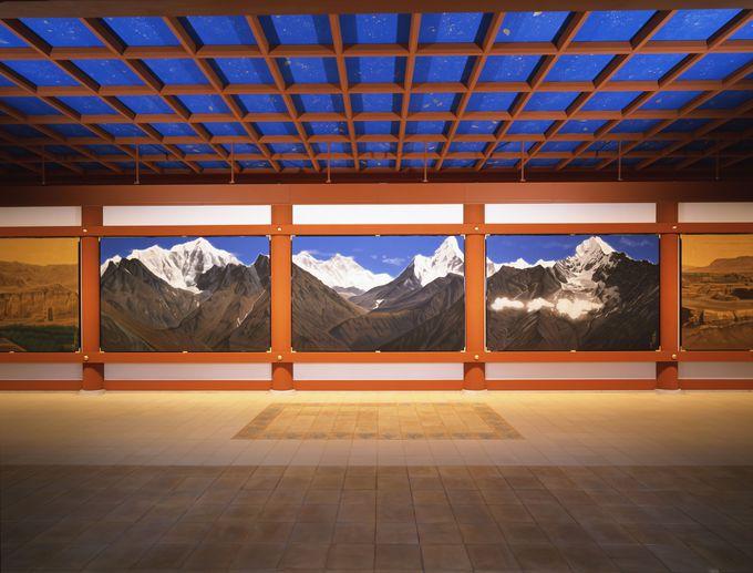 圧巻!空間すべてがシルクロード!『大唐西域壁画』拝観ポイント