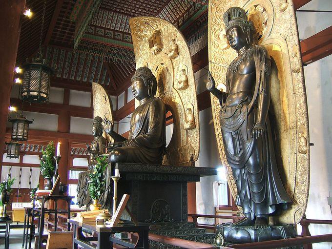 東洋美術の最高峰「薬師寺」で仏像の美を観賞