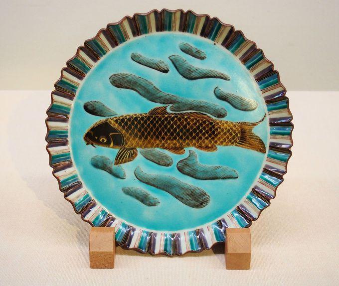 <第3展示室>富本と交流した九谷の陶芸家たち