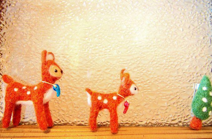奈良きたまちに住む可愛い「勾玉小鹿」