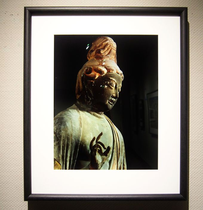 入江泰吉が愛し、好んだ、小ぶりで優しく女性的な仏像