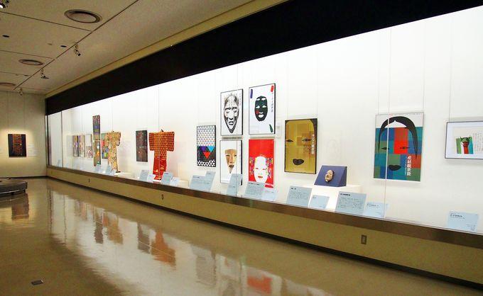 第1展示室【舞台】代表作のひとつ「産経観世能」シリーズは必見!