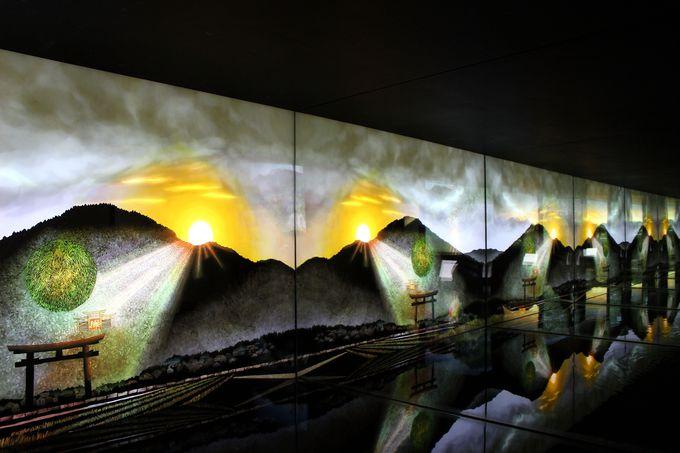 水鏡を使ったユニークな展示で奈良の美を再発見!