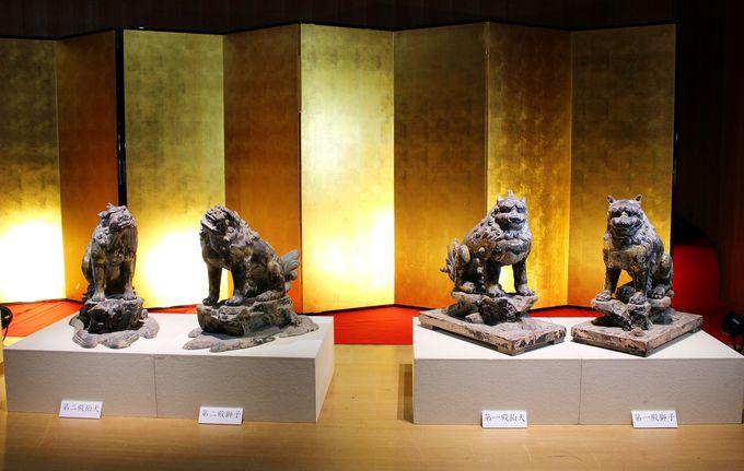 鎌倉初期の作!第一殿・第二殿の獅子・狛犬にご注目を