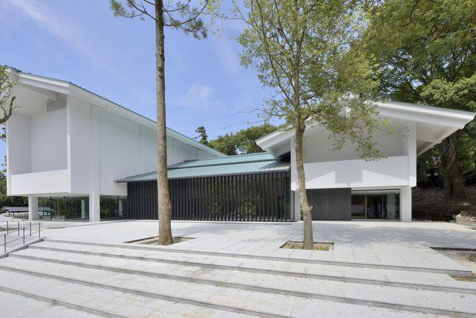 奈良や神社を感じられる建築