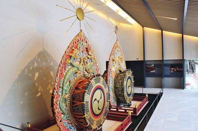 日本最大級!春日大社国宝殿のシンボル・だ太鼓(だだいこ)
