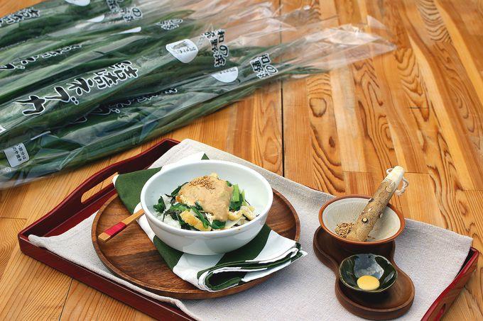 すべて室町時代に食べられていた食材で!町おこしから生まれた歴史グルメ「結崎ネブカ丼」