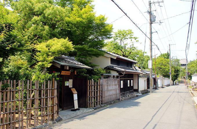 東大寺旧境内・水門町にある「入江泰吉旧居」