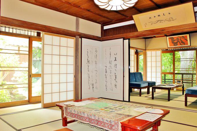 多くの文化人が来訪した入江邸。毎週日曜にはコーディネーターによる案内も