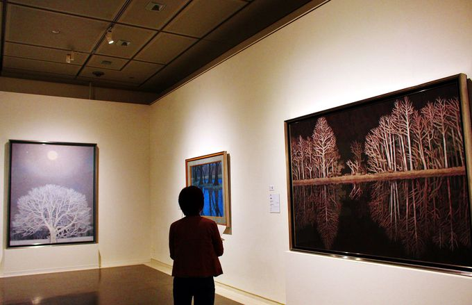 「国民的風景画家」「青の画家」東山魁夷。音声ガイドで魁夷の肉声を