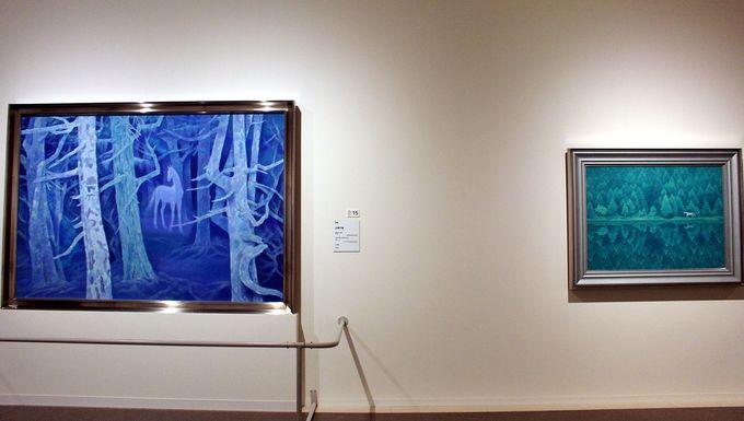 『奈良・唐招提寺御影堂障壁画』と白馬の関係、旅の画家・東山魁夷の心を写す風景画