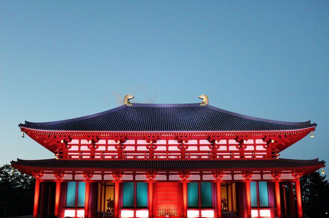約300年ぶりに再建された興福寺中金堂