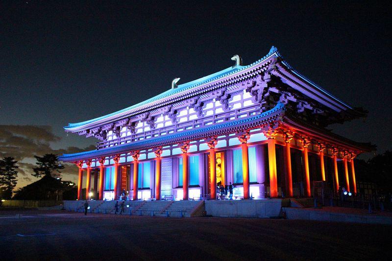 祝再建!奈良・興福寺中金堂の落慶記念夜間特別拝観&ライトアップ