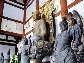 150年ぶりに四天王像が里帰り!行基信仰が繋ぐ奈良・喜光寺の文化財