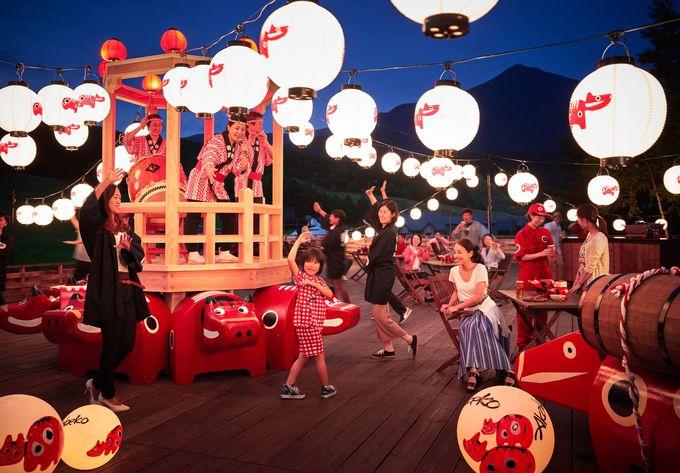 同時開催の「あいばせ!踊らんしょ」「縁日」で会津の夏を更に楽しもう