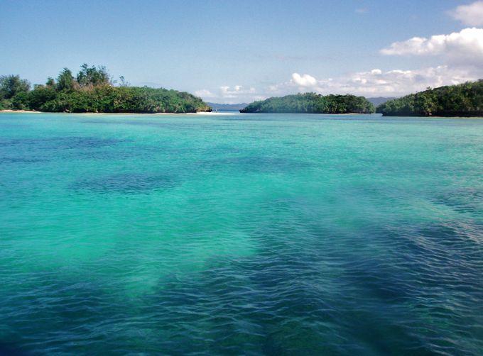 船から見る川平湾の美しさにも感動!