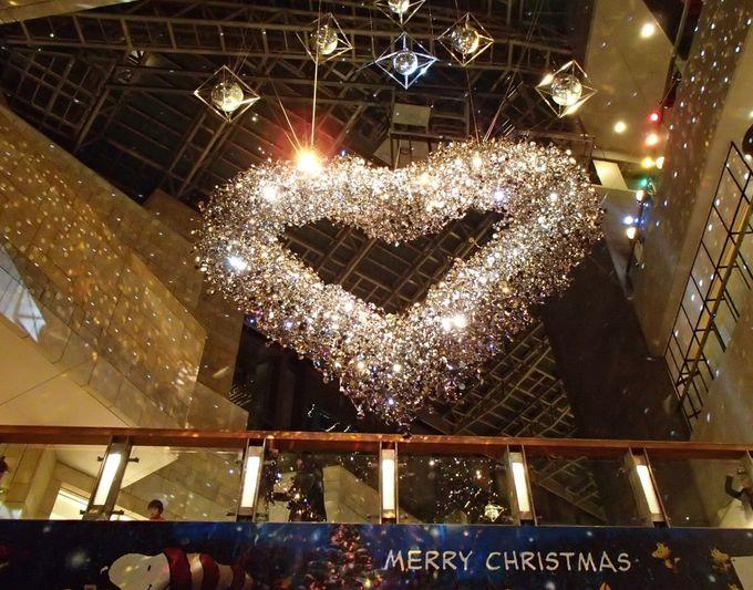 新登場!巨大ハートのクリスマスイルミネーション