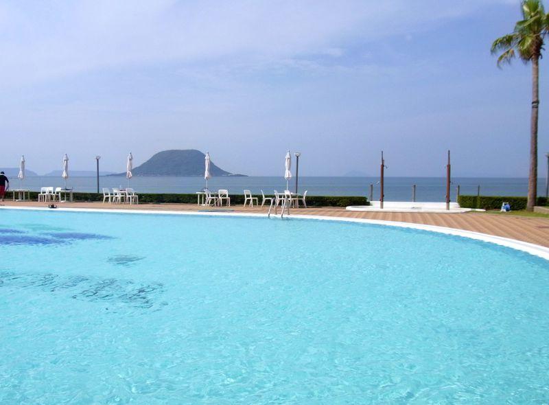 佐賀のがばいビーチリゾートたいっ!唐津シーサイドホテルは海まで5秒!