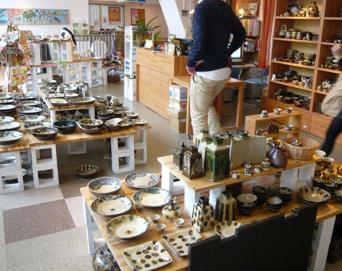 陶器やガラス工芸など、一点ものの沖縄カルチャーがたくさん!