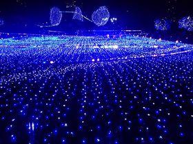 テーマは宇宙旅行!東京ミッドタウン2014のクリスマス・イルミネーション