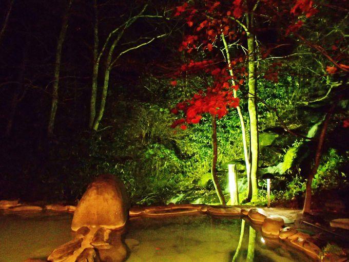 滝を眺めるかけ流し露天は、奥入瀬渓流ホテル宿泊者だけの絶景秘湯
