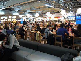 500円で大満足!成田空港第3ターミナル「フードコート」の人気食!