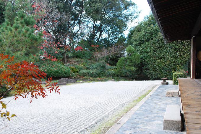 自分と対話する庭、国指定の名勝「枯山水の庭」
