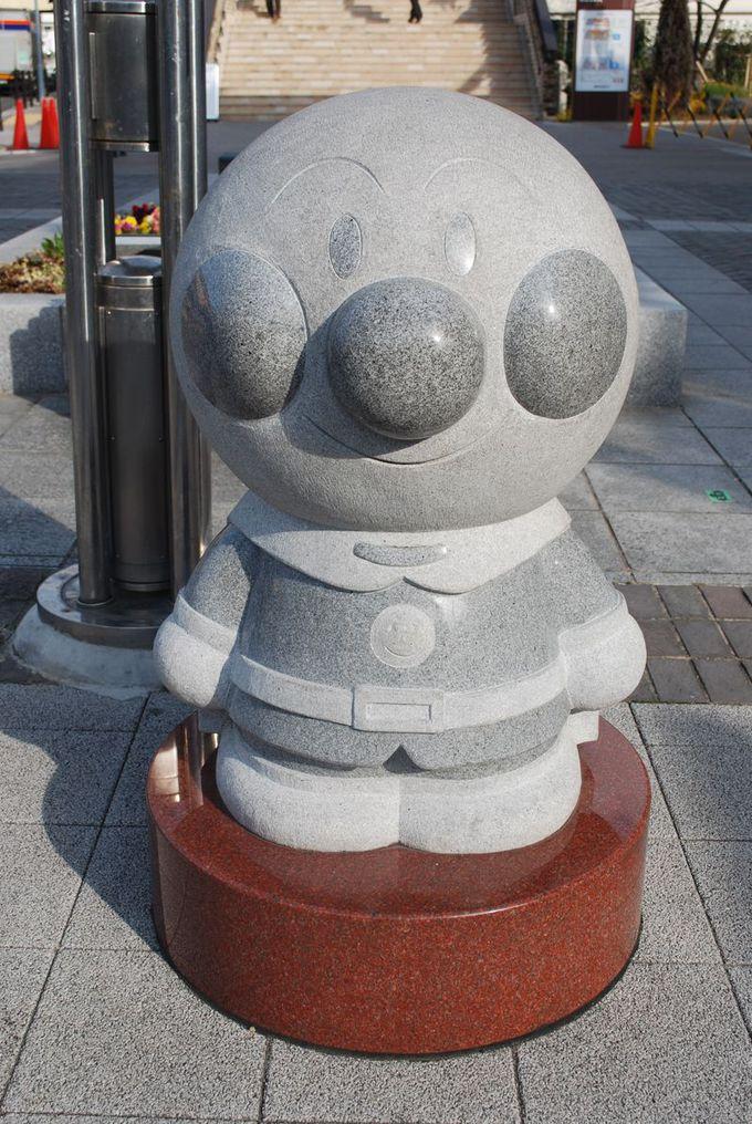 神戸駅からミュージアムまで歩いて、アンパンマンを探そう!