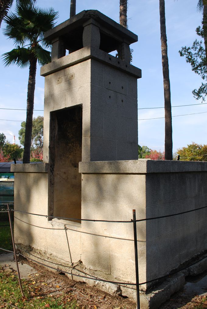 昭和8年のままの姿が残るラジオ塔