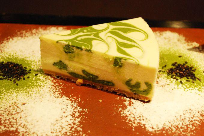清水寺に来たら食べてみたい!絶品!抹茶レアチーズケーキ