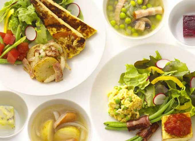 オーガニック野菜たっぷり♪都会で味わう美味しい朝ごはん