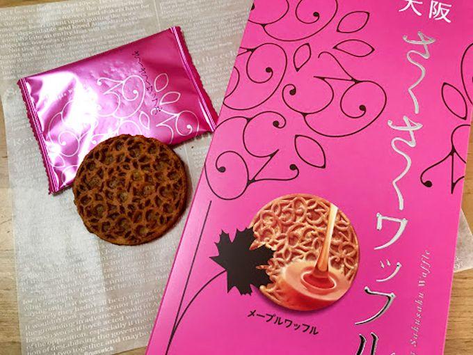 心地よいさくさく感が味わえる「大阪さくさくワッフル」