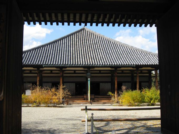 ならまちのシンボル、元興寺